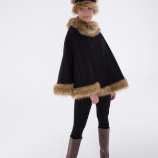 Ebony Full Curve Cape