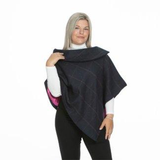 Eleanor Short Tweed Collar Cape