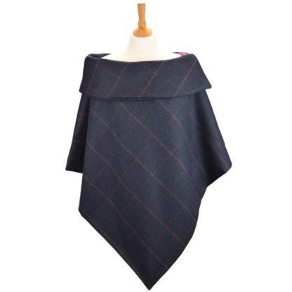 Eleanor Tweed Collar cape